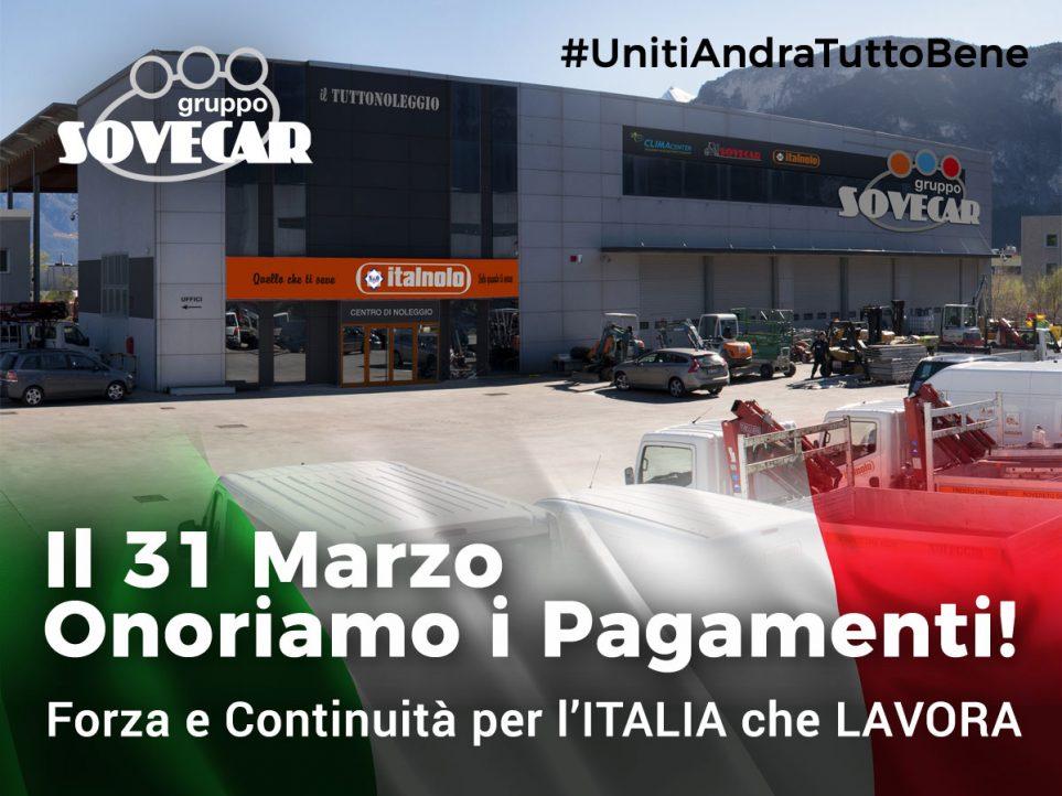 Uniti Andrà Tutto Bene Gruppo Sovecar Carrelli